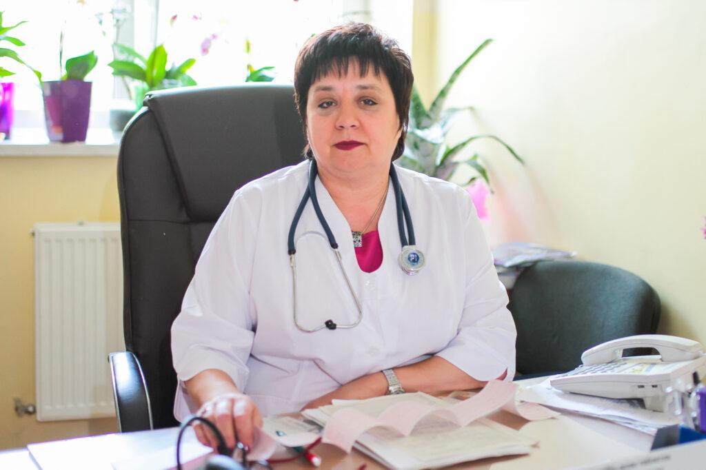 Лікар кардіолог Кузьмяк Оксана Борисівна